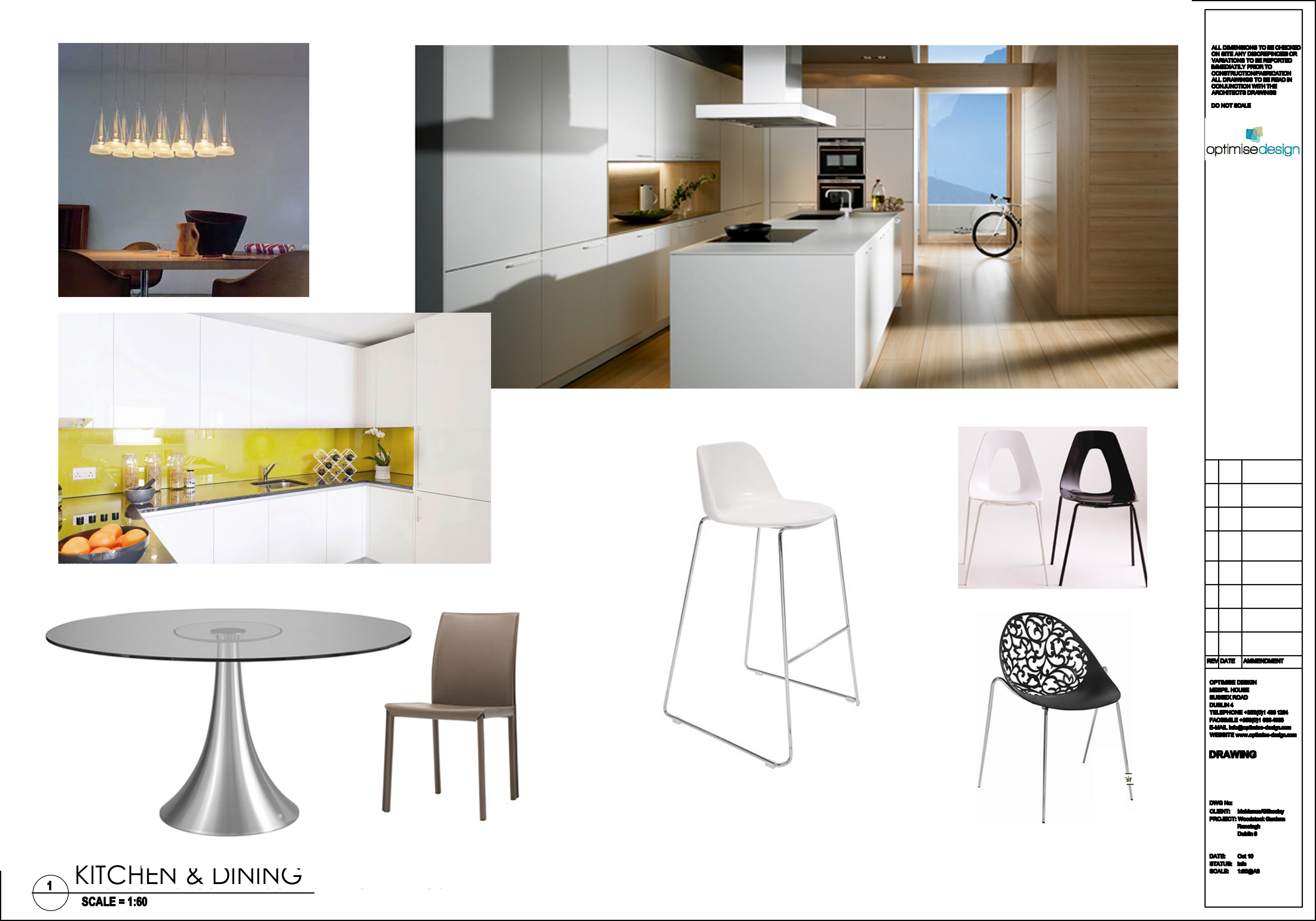 Kitchen And Dining Moodboard The Optimise Design Blog