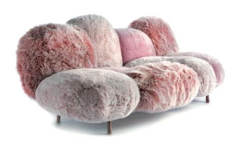 Cipria sofa for Edra