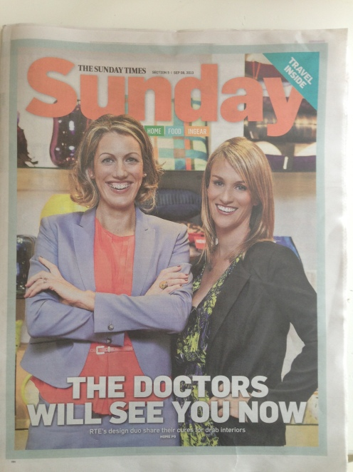 The Sunday Times 8th September 2013